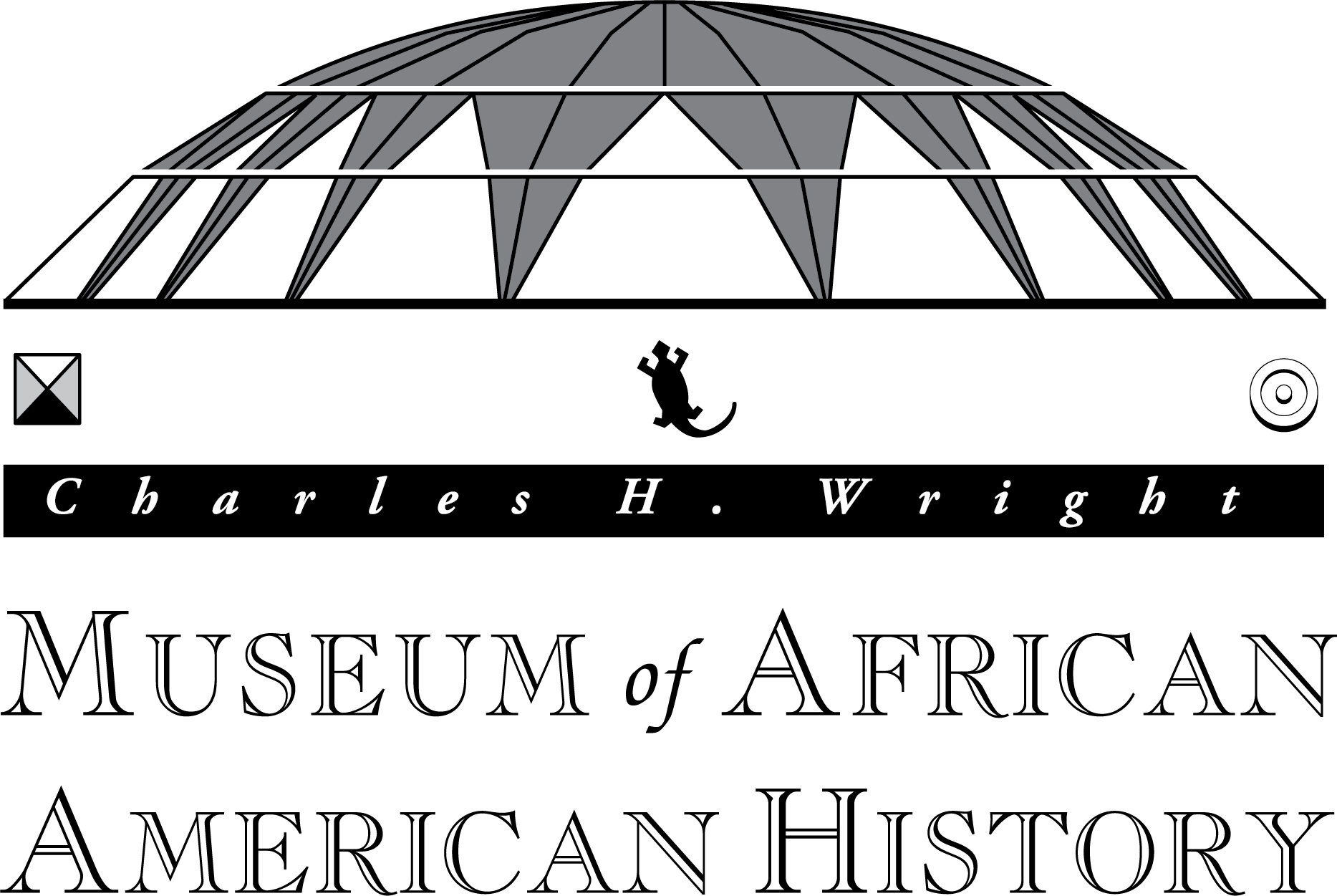 Charles H. Wright Museum of African American History Logo